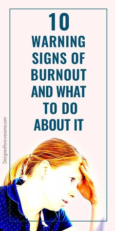 Warning signs of burnout and what to do about it. Tips for each area of burnout to help handle the burnout. Allows ideas to handle each area of life. Nursing Burnout, Job Burnout, Burnout Recovery, Stress Burnout, Feeling Burnt Out, Emotionally Exhausted, Outing Quotes, Nervous Breakdown, Warning Signs