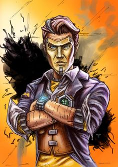 Borderlands 2 - Handsome Jack by Amir Mohsin