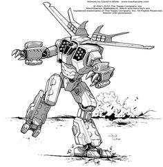 This art was made for Battletech TRO 3085. This is my original design