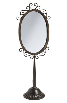 Tabletop Mirror At Nordstrom.com. Vintage Inspired Scrolling And An  Artfully Distressed Finish