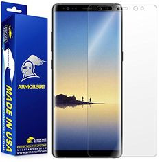 #ArmorSuit - Galaxy Note 8 Screen Protector [Max Screen Coverage] MilitaryShield For Note 8 Lifetime Replacement Anti-Bubble HD Clear
