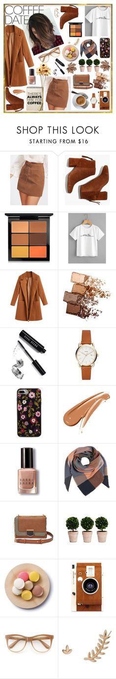 """There's always time for coffee!"" by millajauregui ❤ liked on Polyvore featuring Madewell, MAC Cosmetics, Maybelline, Bobbi Brown Cosmetics, Kate Spade, LØMO, Wildfox, Humble Chic, LC Lauren Conrad and CoffeeDate"
