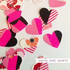 paperForts: make: washi tape hearts