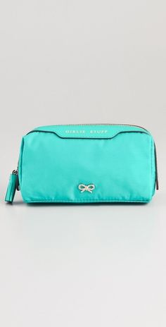 Anya hindmarch cosmetic bag #turquoise wedding party #gift $135