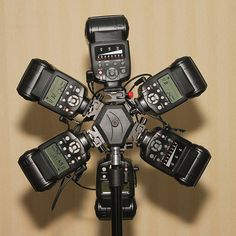 How to #Trigger 6 #Strobes With A Single #Slave pinned by https://pinterest.com/PinPhotoClub/