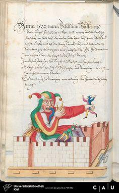 Nürnberger Schembart-Buch Erscheinungsjahr: 16XX  Cod. ms. KB 395  Folio 173