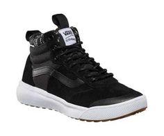 409ecac34c Vans Women s UltraRange Hi MTE Sneaker MTE Black Cardi Knit Water Resistant