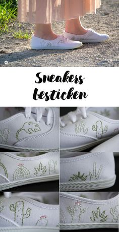 Sneakers besticken DIY Schuhe Sneakers besticken - einfache Anleitung - Sukkulenten StyleOnStyle OnStyle (Korean: 온 스타일; RR: On Seutail) is a South Korean cable and satellite television channel owned by CJ E&M. The channel is targeted to women. Diy Embroidery, Cross Stitch Embroidery, Embroidery Patterns, Embroidery Sneakers, Diy Broderie, Diy Kleidung, Diy Accessoires, Diy Mode, Diy Couture