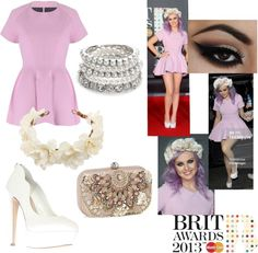 """""""Perrie Edwards' outfit for BRITS AWARDS"""" by gccassadrias on Polyvore"""