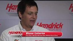 Steve Letarte, crew chief of the No. 88 Diet Mountain Dew/National Guard Chevrolet, talks about his relationship with JR Nation.