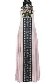 pinned by melike_melisita mary katrantzou Stepa embellished wool gown