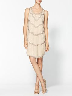 Piperlime | Boudoir Sequin Embellished Dress