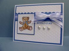 Creative Crafts by Lynn: Baby Blue