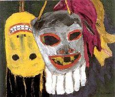 Old Haute Mess: Emil Nolde , Masks