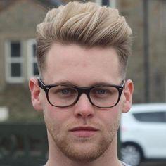 edgy quiff haircut
