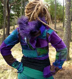 Pixie Clothing Tribal clothing Festival by IntergalacticApparel, $172.00