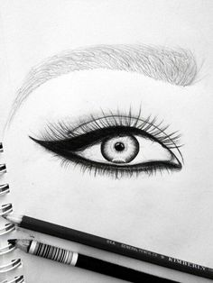 #eye# eyeliner and pencil# #13th July 2k16