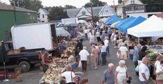 Tuesday is market day at North Tonawanda City Market in New York 7am - 1pm  http://farmersmarketonline.com/fm/NorthTonawandaCityMarket.html