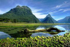 Das Fjordland auf der Südinsel Neuseelands