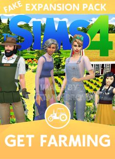 The Sims 4 Get Farming Expansion Pack. Farm lot used in the background by Simpr. The Sims 4 Get Fa Sims 4 Game Packs, The Sims 4 Packs, Los Sims 4 Mods, Sims 4 Game Mods, Sims Baby, Sims 4 Toddler, Sims 4 Cas Background, Sims 4 Challenges, Maxis