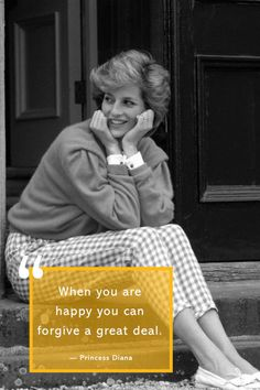 "12 Princess Diana Quotes that Prove She Will Always be the ""People's Princess"" Great Quotes, Quotes To Live By, Life Quotes, Inspirational Quotes, Princess Diana Quotes, Crazy Hat Day, When You Are Happy, Fashion Quotes, Fashion Fashion"
