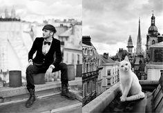 Des Hommes et des Chatons - men and kittens!