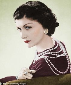 Coco Chanel, as only she could