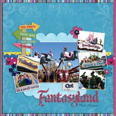 Fantasyland - Disney World Scrapbook