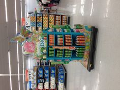 I saw this over the spring at Walmart. It's eye catching and shoppable.