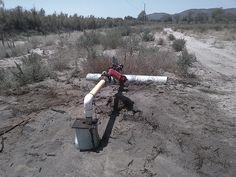 Bomba de agua Rancho arroyo.
