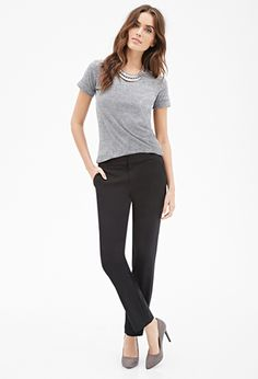 Classic Woven Trousers | FOREVER21 - 2000136674