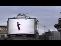 British Airways Billboard Interacts With Planes as They Fly Overhead