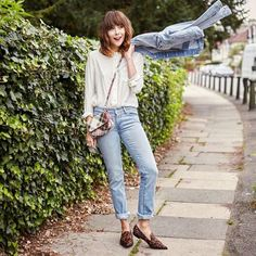 Have you been following @meganellaby's challenge of #30DaysOfDenim? So many good looks to choose from, especially this #doubledenim one created with our new 712 jeans and matching Trucker jacket. Shop the new Lot 700 Collection now at www.levi.com/ladiesinlevis #LadiesInLevis