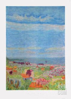 Le Cannet Near Nice' par Pierre Bonnard