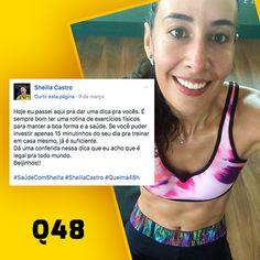 A jogadora Sheila Castro, da seleção brasileira feminina de vôlei, é adepta e indica o Q48 😁💪👌 Conheça o Q48 -->> http://www.corpoesbelto.com.br/q48