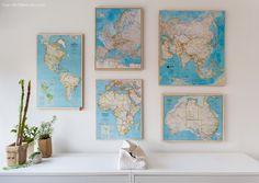 51-decoracao-escritorio-home-office-comoda-branca-quadros-de-mapa