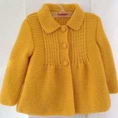 Little Princess Coat - For 2 to 3 Year Old Girls - Ready for Shipping - Worldwide Shipping -NEW! Little Princess Coat - For 2 to 3 Year Old Girls - Ready for Shipping - Worldwide Shipping - Knit baby cardigan merino knit baby cardigan handknit Crochet Baby Jacket, Knitted Baby Cardigan, Knit Baby Sweaters, Knitted Coat, Sweater Coats, Girls Sweaters, Hooded Cardigan, Knitting For Kids, Baby Knitting Patterns