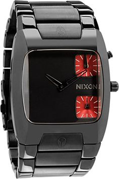 9dad086ba64 Nixon Banks Watch in Gunmetal -  399  nixon  watch  watches Brand Name  Watches