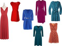 Dresses For A Round / Apple Shaped Body by jen-thoden featuring a v neck dress