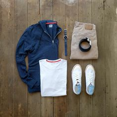 "380 Me gusta, 14 comentarios - Seth Hartman / #mycreativelook (@mycreativelook) en Instagram: ""Light layers with some classic colors #mycreativelook ––––––––––––––––––––––– Sneakers: Harry…"""