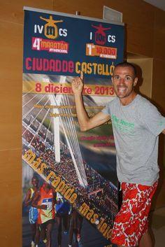 Chema Martínez, participante del I 10 Km Internacional Ciudad de Castellón (2013)