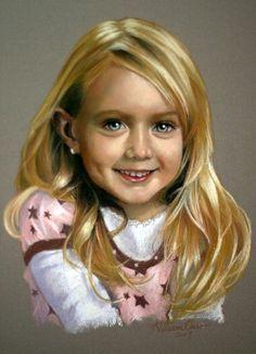 Resultado de imagen de rob beckett portrait pastel paintings