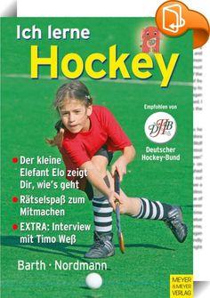 Ich lerne Hockey    ::  Hockey macht Spaß, ob in der Halle oder auf dem Rasen. Aber erst richtig Spaß macht es, wenn die jungen Spieler geschickt mit dem Schläger und dem Ball umgehen können und die wichtigsten Techniken zum Zuspielen, Abwehren, Dribbeln und Tore schießen kennen.         Dieses Buch ist für hockeybegeisterte Kinder geschrieben, die das Hockeyspielen erlernen. Mit kindgerechten, unkomplizierten Texten und motivierenden Zeichnungen wird den kleinen Spielern die grundlege...