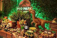 Dinosaur Birthday, 5th Birthday, Birthday Parties, Birthday Ideas, Festa Jurassic Park, Lego Jurassic World, Christmas Ornaments, Holiday Decor, Bento