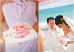 Photography by Robert Sukrachand, www.sukrachand.com     #wedding #destination #mexico #pink #orange #ceremony #bride #groom #beach #eventus