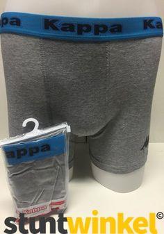Kappa Boxershort - Grijs / Blauw (914)