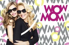 Georgia May Jagger and Jerry Hall for the Mother's Day Campaign