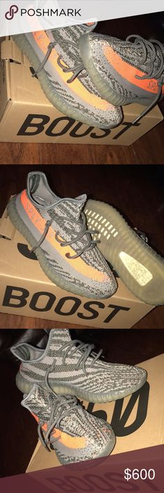 Yes you boost 350 Yeezy 350 boost I wore them like three times they are size 8 1/2 but they fit like size 9 Shoes Sneakers