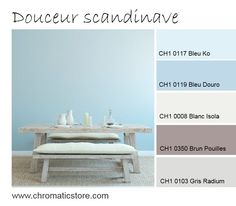 This atmosphere focuses on the sweetness and freshness of pastel blue (Blue Ko, Blue Douro). Associated with Brown Puglia, we will warm them and capita … - Decoration For Home Office Paint Colors, Blue Paint Colors, Wall Paint Colors, Bedroom Paint Colors, Blue Painted Walls, Blue Walls, Duck Egg Blue Paint, Blue Girls Rooms, Pastel Walls