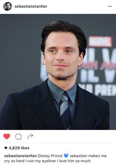Sebastian stan my bae // pin: @thewhitelies
